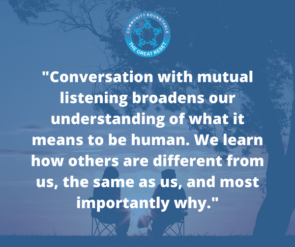 Conversation with mutual listening